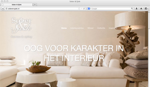 Responsive website Sober & Sjiek