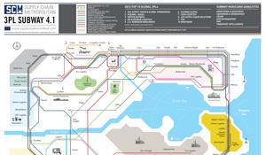 SCM 3PL Metrokaart
