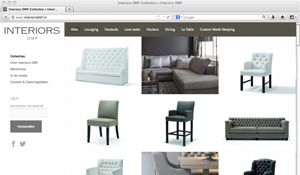 Responsive website Interiors DMF